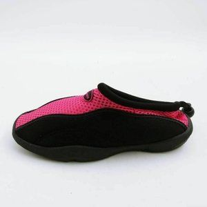 Jelly Beans Water Shoes Pink Black Bungee 2 New